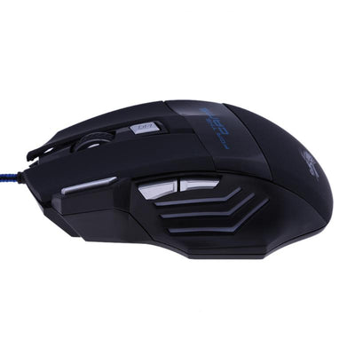 Professional Wired Gaming Mouse 5500DPI Adjustable 7 Buttons - Exinoz