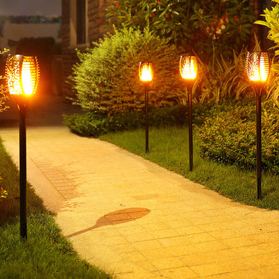 Waterproof Solar Tiki Torches