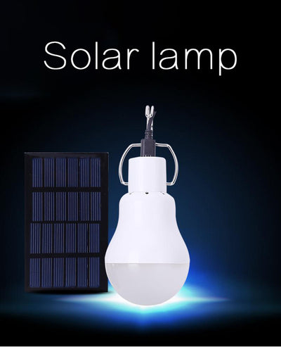 Solar panel LED Bulb - Exinoz