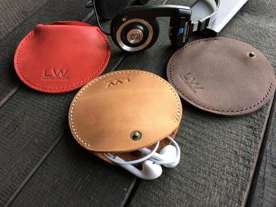 Leather Earphone Case - Exinoz