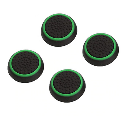 4 Piece Set Silicone Analog Thumb Stick Grips Cover For PS4 And Xbox - Exinoz