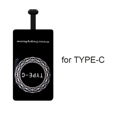 Qi Wireless Charging Receiver Pad Coil for iPhone and Android - Exinoz