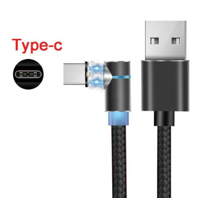 Exinoz 2m Fast Charging Magnetic Cable with LED Indicator - Exinoz