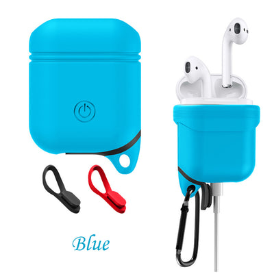 Waterproof Protective Silicone Earphone Case For Apple AirPods