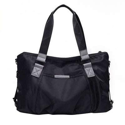 Mabel - Oxford Cloth Shoulder Bag - Exinoz