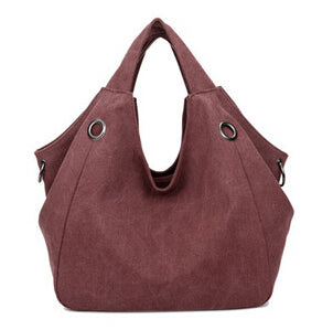 Ivana - Canvas Shoulder Bag