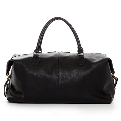 Travel Vegan Leather Duffle Bag - Exinoz