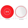 Wireless Charging Pad with LED Makeup Mirror