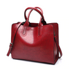 Women's Leather Casual  Handbag Large