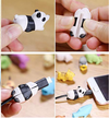 Cute Animal Bite Cable Winder Organizer Protector - Exinoz