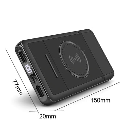 Exinoz Portable Wireless Charging Powerbank (20000mAh) - Exinoz