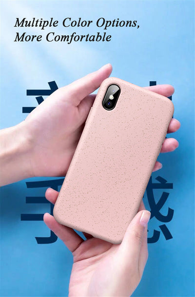 Biodegradable iPhone Case 6 6s 7 8 Plus X XR XS Max - Exinoz