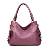Luxury Women's Leather Tote Crossbody Handbag - Exinoz