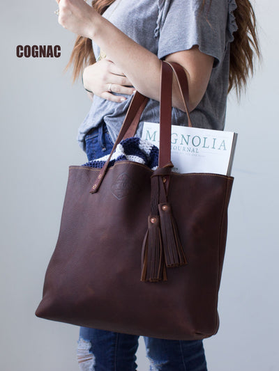 Genuine Leather Tote Bag for Women - Exinoz