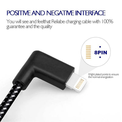 USB Fast Charging and Data Cable for iPhone X | XS | XS Max | XR | 11 Pro | 11 Pro Max - Exinoz