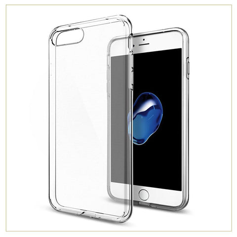 EXINOZ iPhone 7 Plus Crystal Gel Case