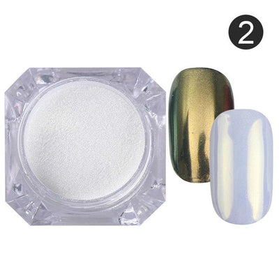 DIY MAGIC MIRROR NAIL Exinoz Color 2