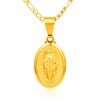 Virgin Mary Pendant Necklace - Exinoz