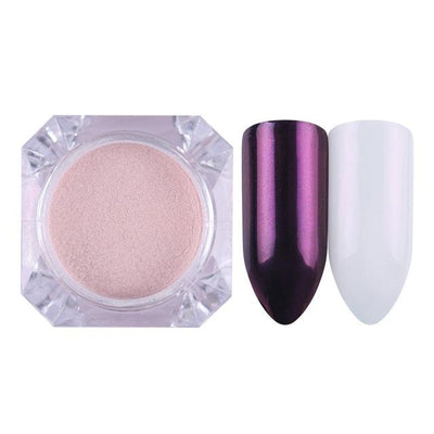 DIY MAGIC MIRROR NAIL Exinoz Color 10