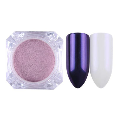 DIY MAGIC MIRROR NAIL Exinoz Color 11