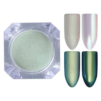 DIY MAGIC MIRROR NAIL Exinoz Color 19