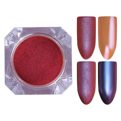 DIY MAGIC MIRROR NAIL Exinoz Color 20