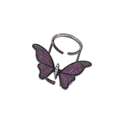 Butterfly Ring - Exinoz
