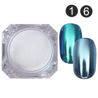 DIY MAGIC MIRROR NAIL Exinoz Set 1