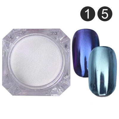 DIY MAGIC MIRROR NAIL Exinoz Set 9