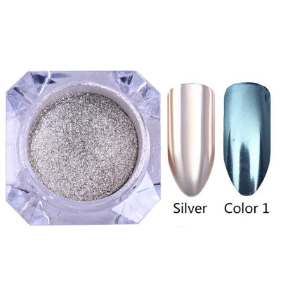 DIY MAGIC MIRROR NAIL Exinoz Set 10