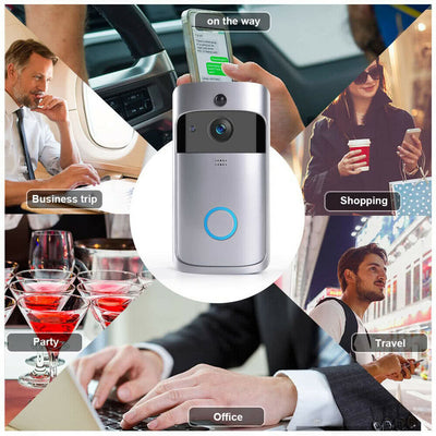 Wireless Smart WiFi DoorBell - Exinoz