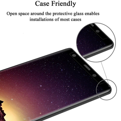 2 for 1 Special: Anti-Spy Tempered Glass Screen Protector for Samsung - Exinoz