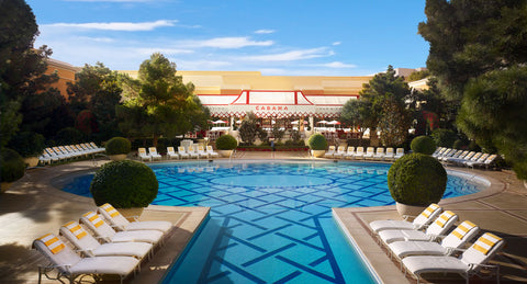 Outdoor image of Wynn Hotel pool