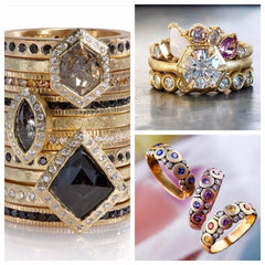 Todd Reed, Alex Sepkus and Samantha Louise rings