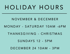 Fox's Seattle Holiday Hours