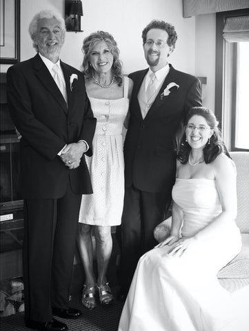 Wedding photo of Joy, Chai, Zoey and Jordan