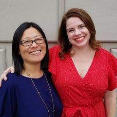 Keiko and Justine at Fox's Seattle