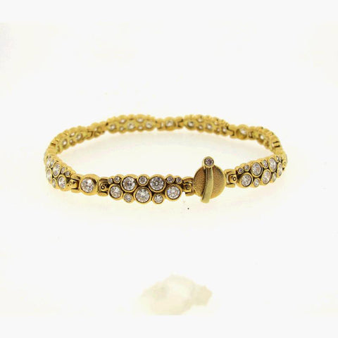 Alex Sepkus 18K yellow gold diamond bracelet