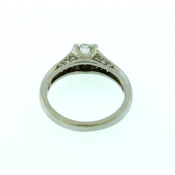 Elara Diamond and Platinum Ring