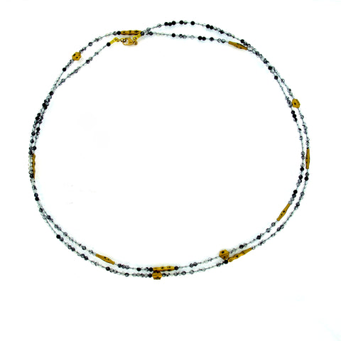 Alex Sepkus Tourmalinated Quartz Necklace BN-121