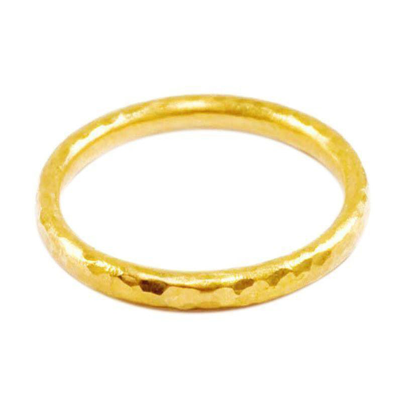 Gurhan 24K Gold Stacking Band