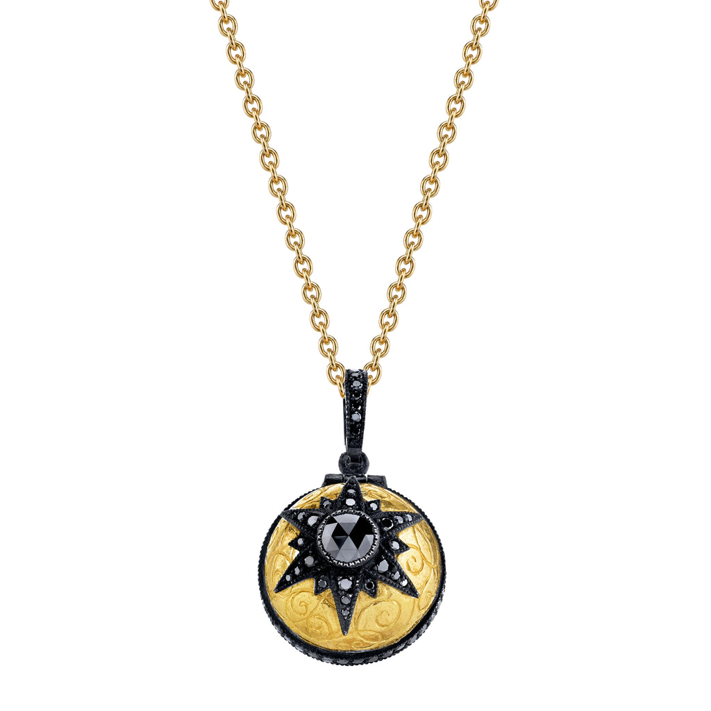 Arman Sarkisyan Black Diamond Poison Ball Pendant
