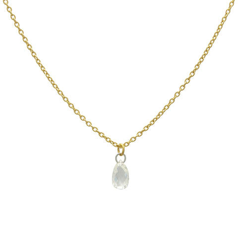 Gurhan One-of-a-Kind Delicate Diamond Briolette Pendant