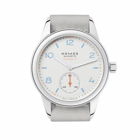 Nomos Club Neomatik Stainless Steel Wristwatch NO 740
