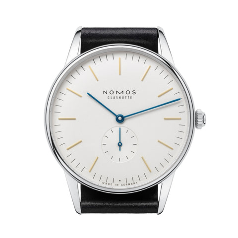 Nomos Orion 38 Stainless Steel Wristwatch NO-384