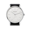 Nomos Orion 38 Weiss Stainless Steel Wristwatch NO 386