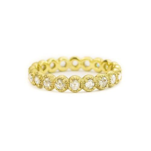 Samantha Louise mini bezel diamond ring