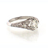 Sebastien Barier Diamond and Platinum Ring