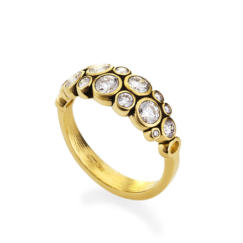 Alex Sepkus 18K Diamond Ring R-113D