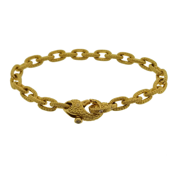 Alex Sepkus 18K Gold Milgrain Chain